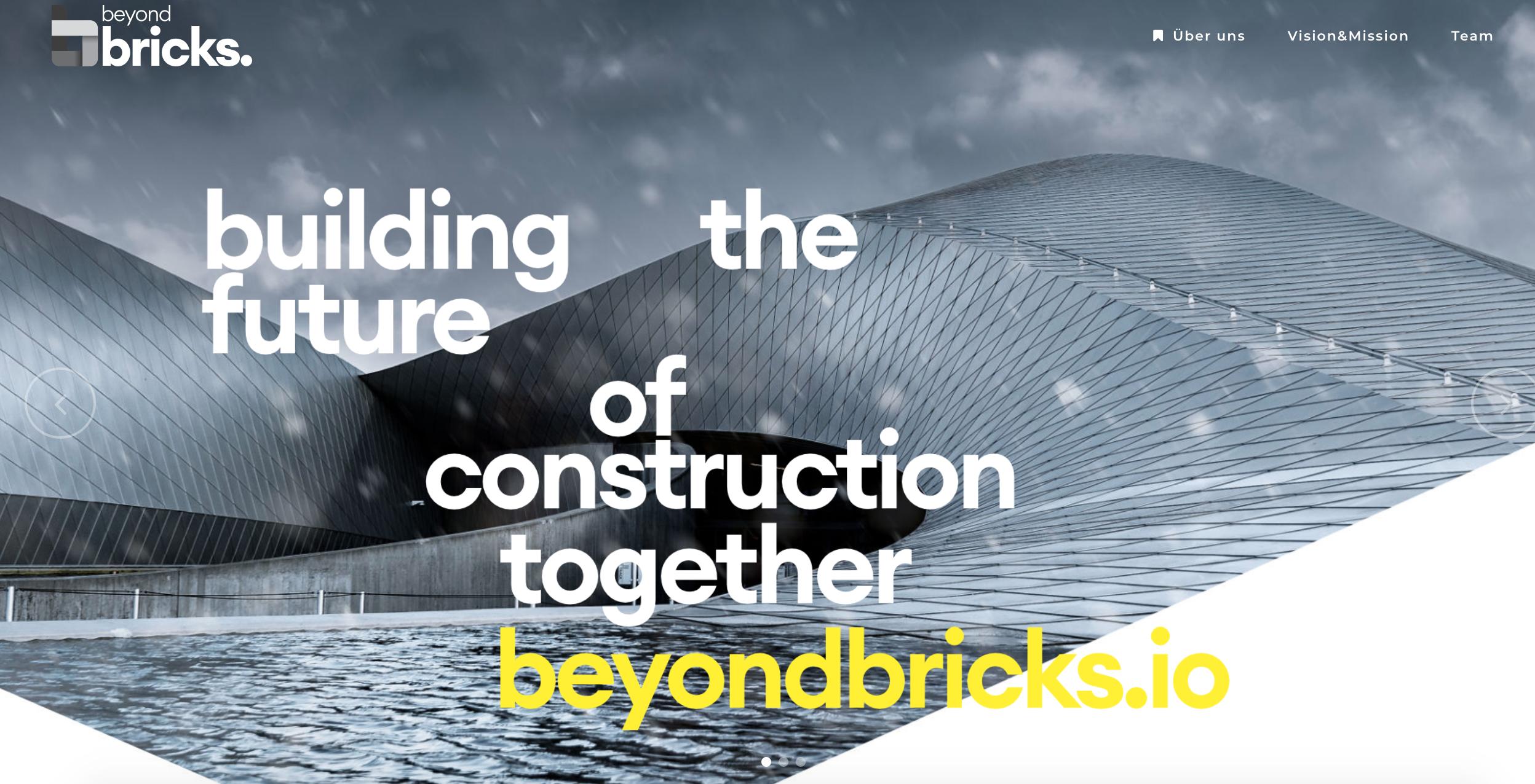 Website and Logo for Beyond Bricks